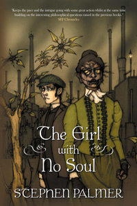 The Girl with No Soul (The Factory Girl Trilogy #3) by Stephen Palmer